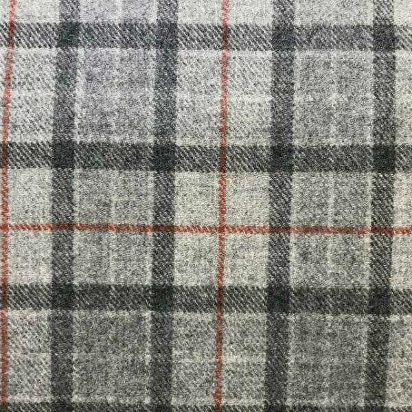 Wool Grey & Red Check**Limited Stock**