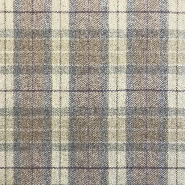 Wool Natural Muted Check**Limited Stock**