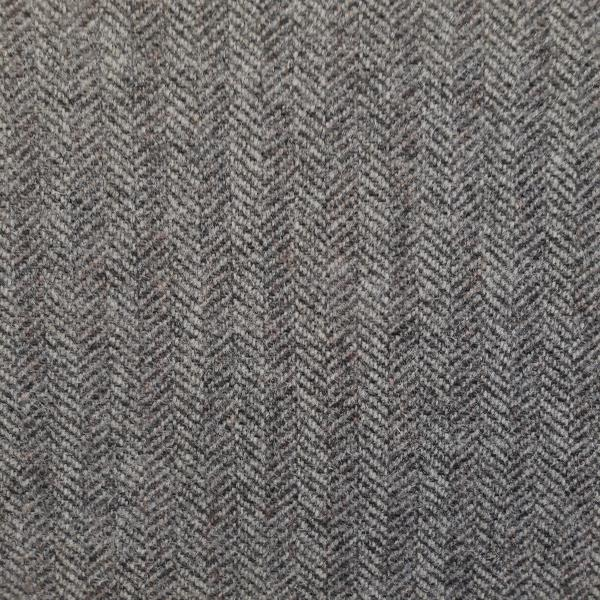 Wool Harris Tweed Salmon Bone Grey