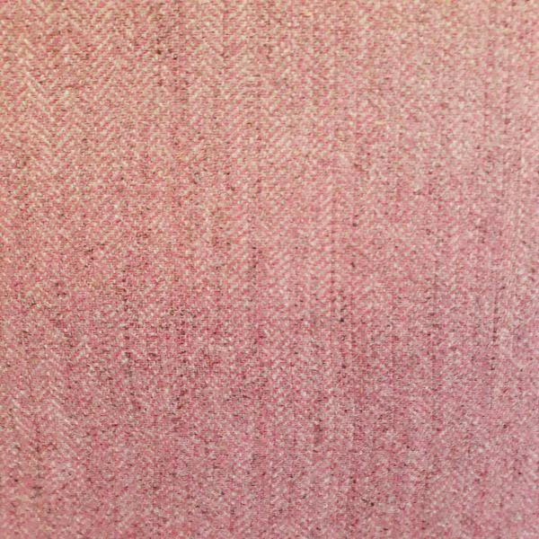 Wool Herringbone Pink